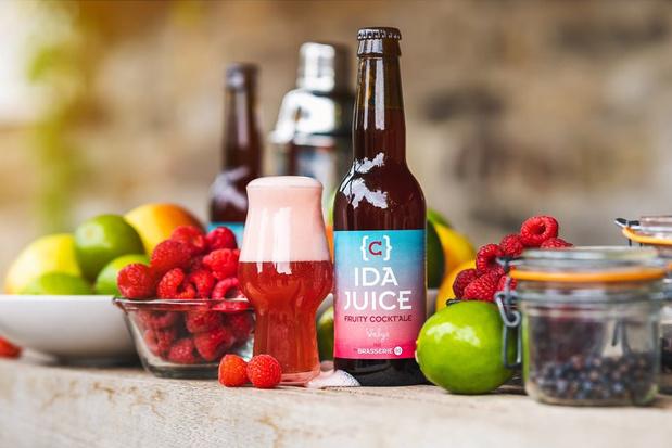 L'IDA Juice, la nouvelle bière fruitée de la Brasserie C
