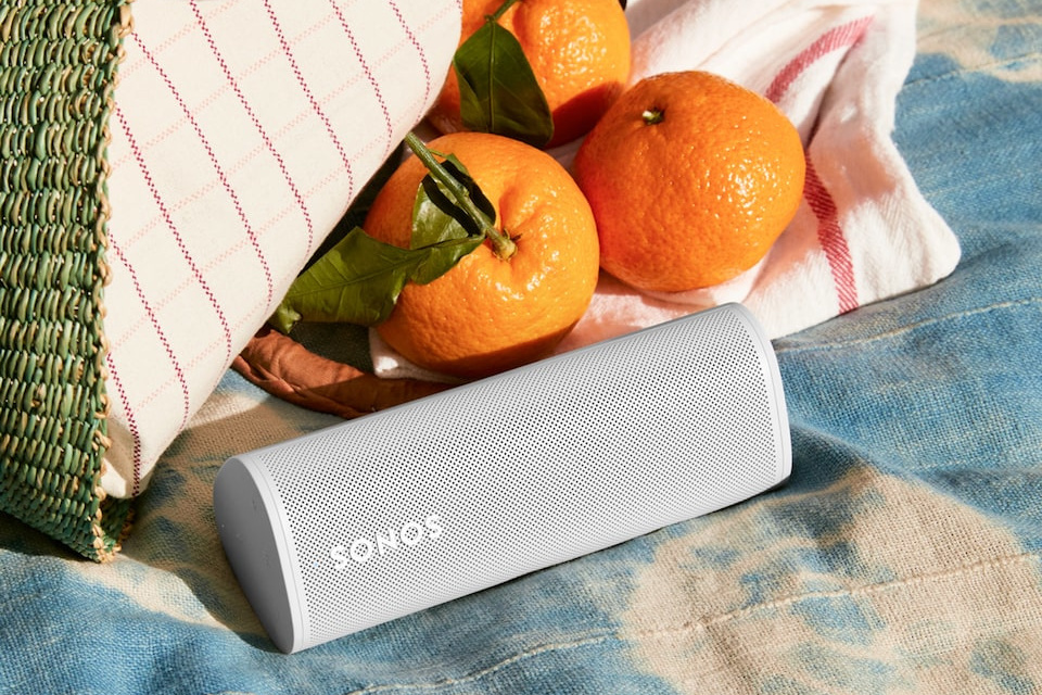 Sonos Roam: compact lichtgewicht dat zeker mee kan naar bijvoorbeeld een picknick., DN