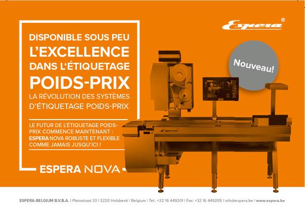 ESPERA présente sa nouvelle machine NOVA, l'avenir du pesage-étiquetage !