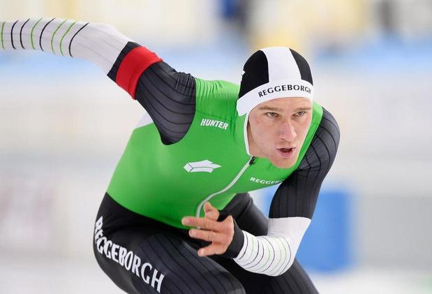 Schaatser Mathias Vosté verlangt naar zijn eerste internationale wedstrijd