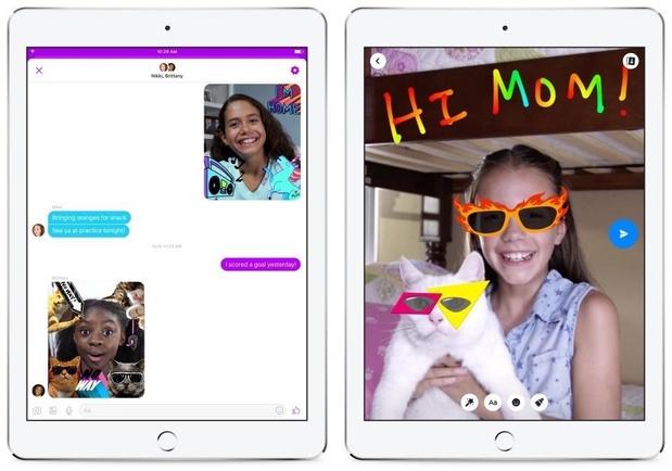 Facebook admet la présence d'un bug dans l'appli Messenger Kids