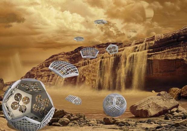 Le nouveau plan de la NASA: envoyer des robots Transformer sur Titan