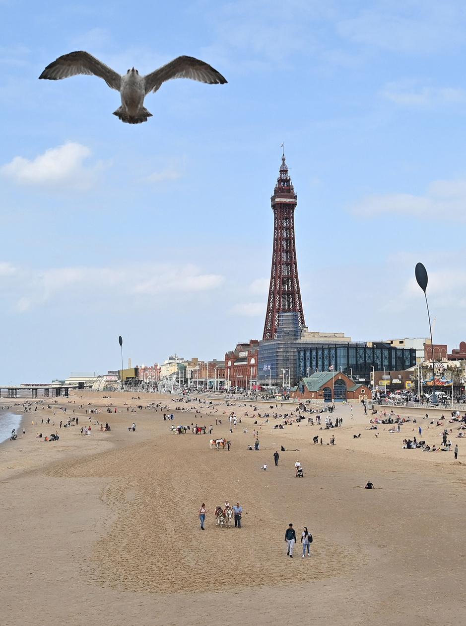 En images: Blackpool, symbole de la renaissance des stations balnéaires anglaises