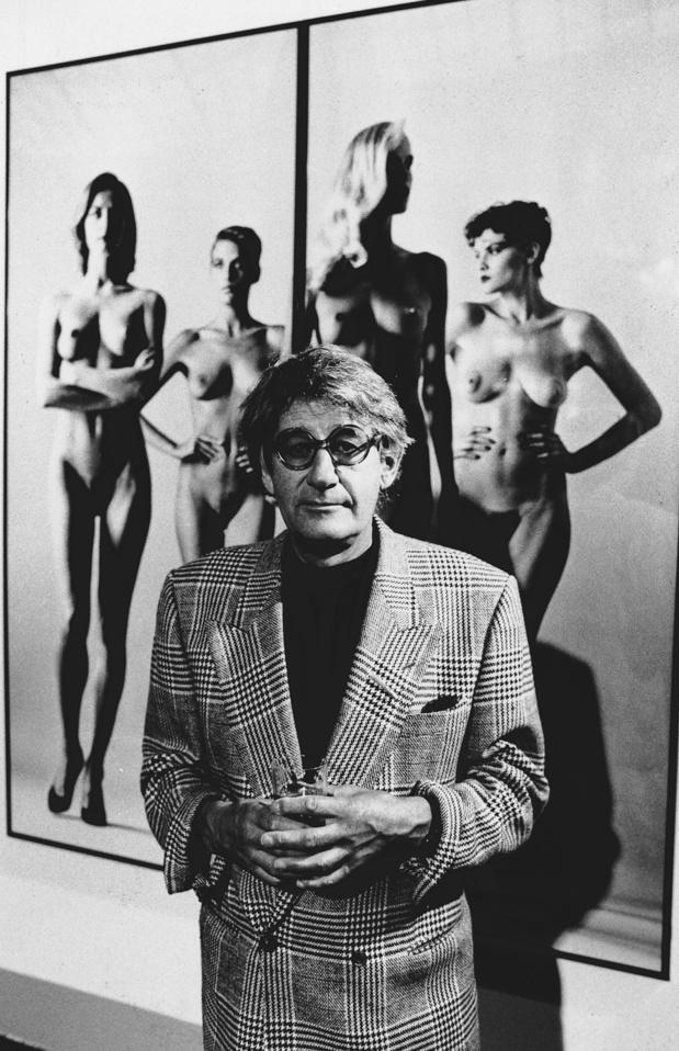 L'image d'Helmut Newton, l'un des plus grands photographes de mode du XXe siècle, résistera-t-elle à #metoo?