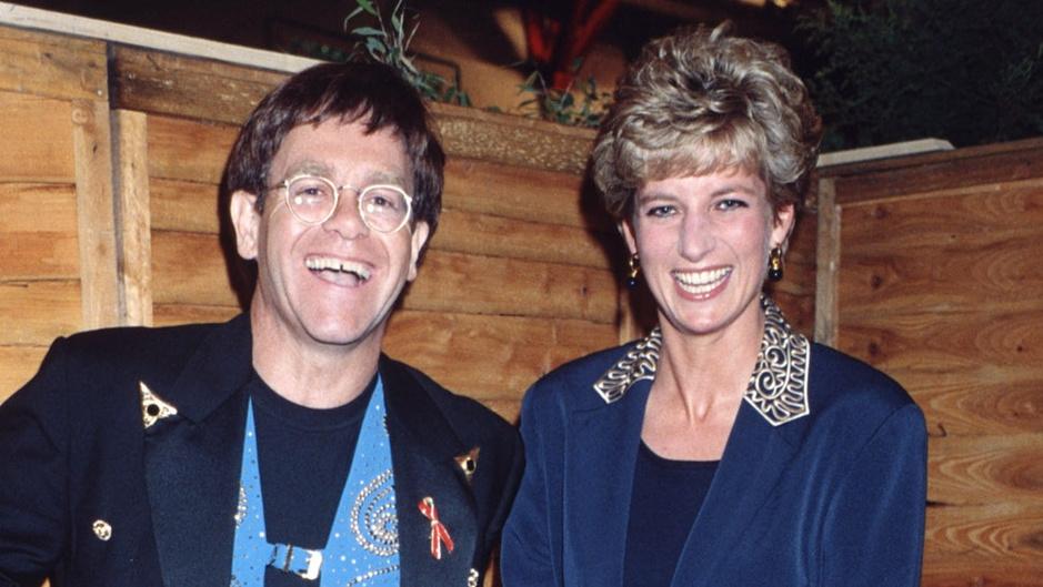 Voorpublicatie uit autobiografie Elton John: 'Prinses Diana was geweldig gezelschap. En een roddeltante'