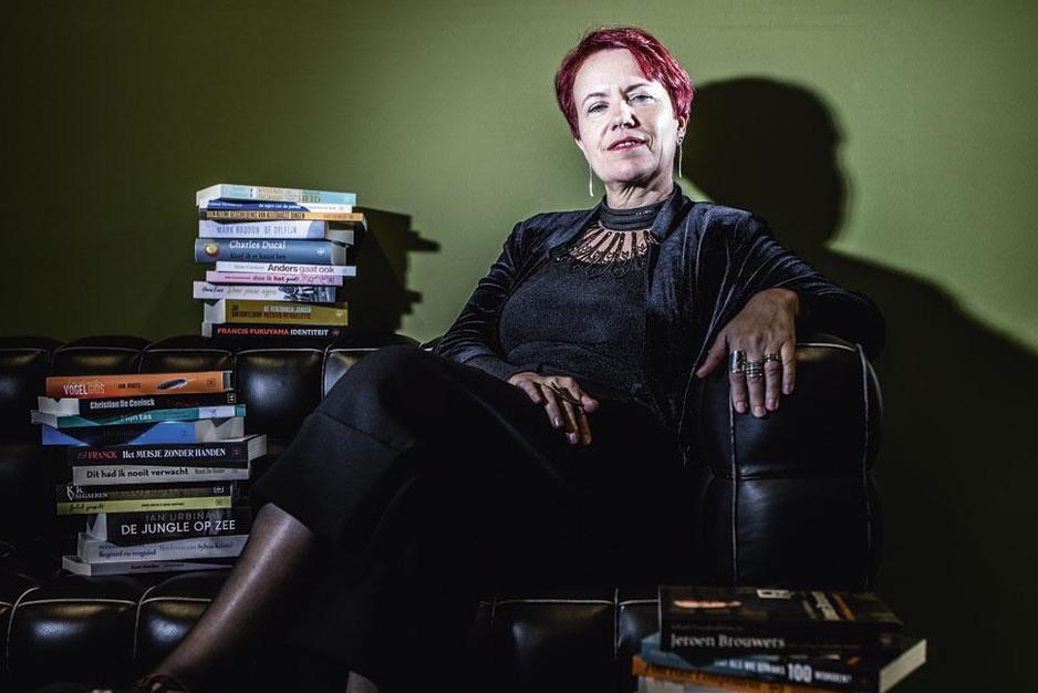 Vé Bobelyn (directeur Boekenbeurs): 'Wie in paniek is, gaat ten onder'