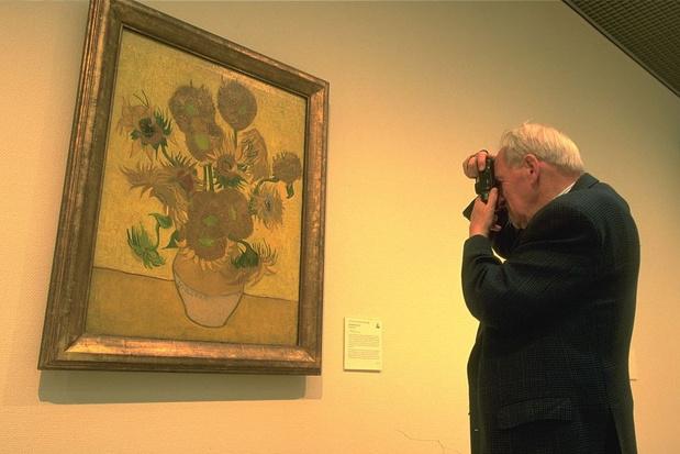 Expo: zo zag je de zonnebloemen van Van Gogh nog nooit