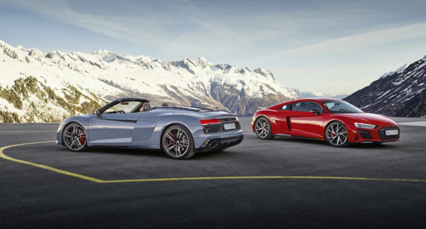 Audi R8 V10 wordt verfijnd