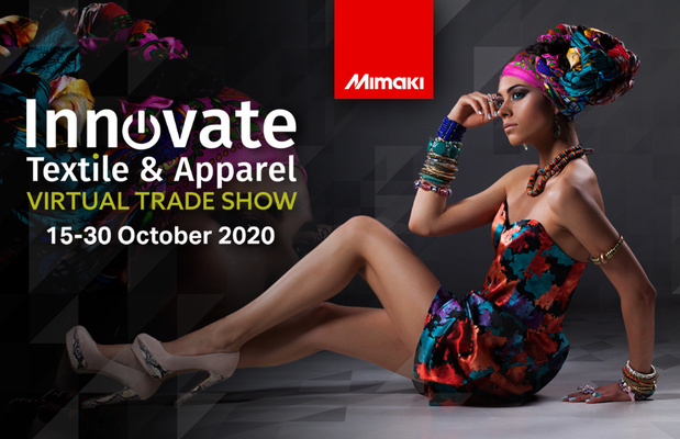 Mimaki Europe to present line-up of cutting-edge digital textile solutions at Innovate Textile & Apparel Virtual Trade Show