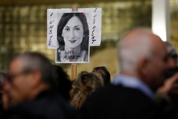 Moord op Maltese journaliste: voormalige stafchef van Maltese premier vrijgelaten