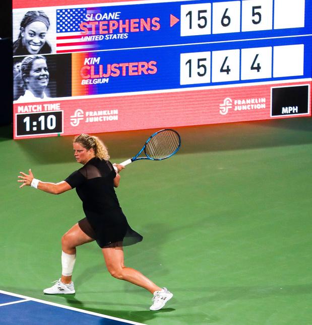 Kim Clijsters reporte encore son retour et renonce à l'US Open