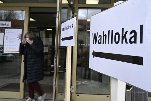 Exitpolls: partij van Merkel (CDU) grootste verliezer van Duitse deelstaatverkiezingen