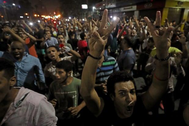 Schermutselingen in Suez bij zeldzame protesten tegen Egyptische president