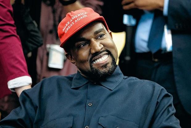 Kanye West in zee met Gap voor tien jaar