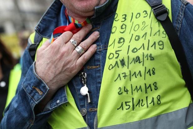 """Plusieurs centaines de """"gilets jaunes"""" ont manifesté à Paris"""