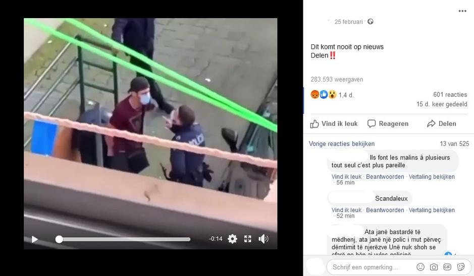 Factcheck: jongeren in België delen Portugees politiegeweld op sociale media