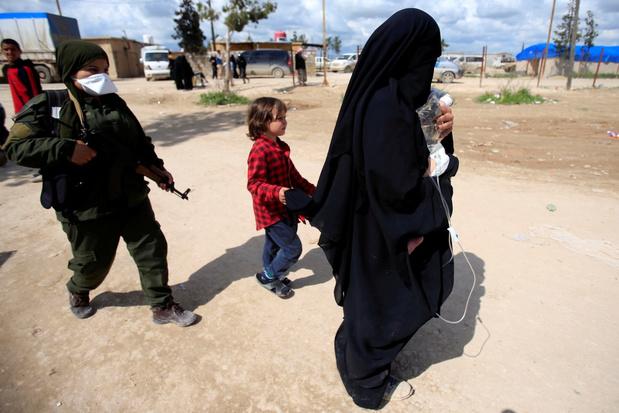 Belgen opgepakt die vrouwelijke Syrië-strijdsters wilden bevrijden uit kampen