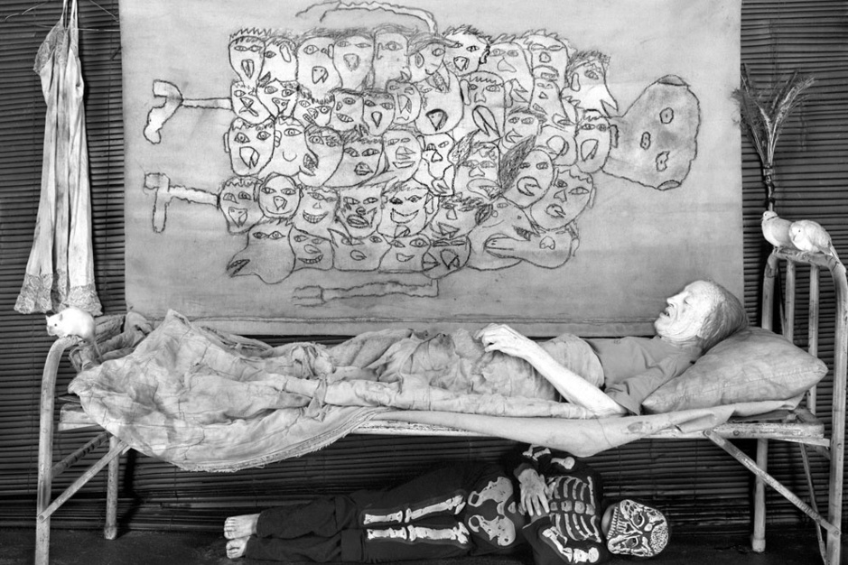 Roger Ballen, huisfotograaf van Die Antwoord: 'Krijg je nachtmerries van mijn foto's? Geweldig!'