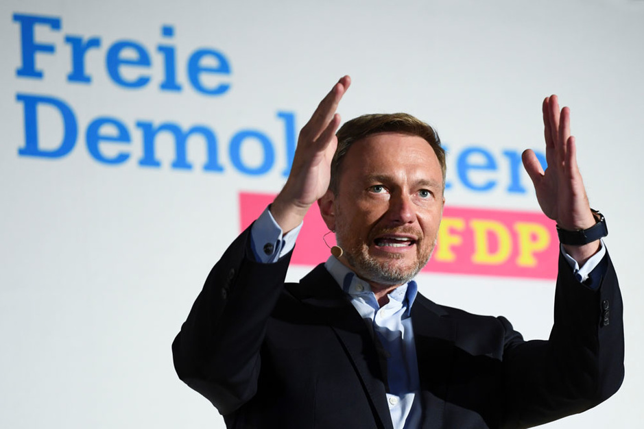 Duitse liberalen bepalen nieuwe coalitie