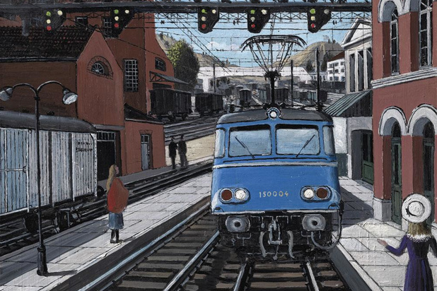 Train World prolonge son exposition temporaire consacrée à Paul Delvaux