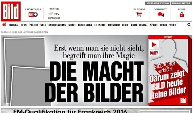 Le tabloïd allemand Bild lance sa chaîne de télévision