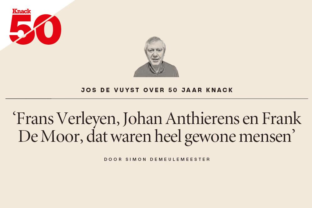 Jos De Vuyst over 50 jaar Knack, Knack