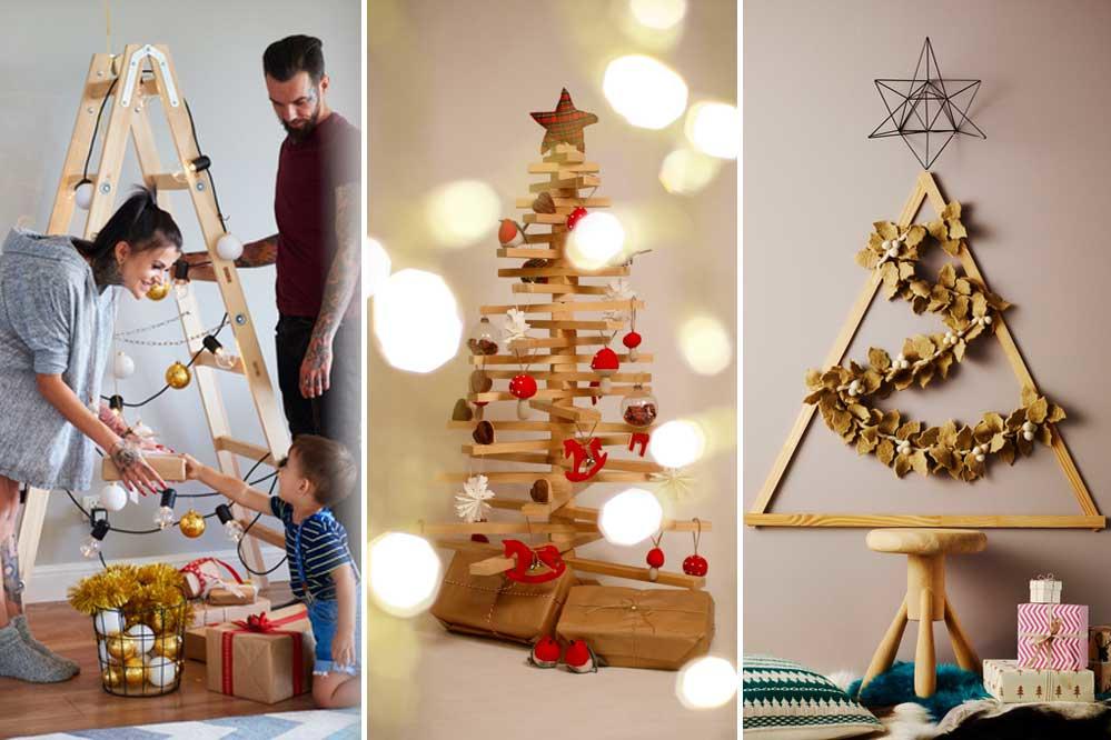 Alternatieve kerstbomen kunnen even gezellig zijn, Getty