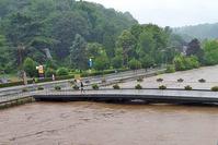 Nouvelles précipitations en région liégeoise: les yeux sont tournés vers la Vesdre