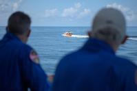 SpaceX a ramené sur Terre deux astronautes pour la première fois