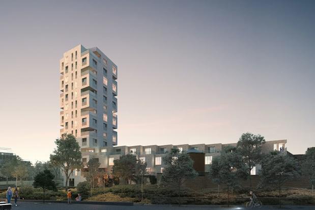 Chipperfield ontwerpt Leuvense woontoren