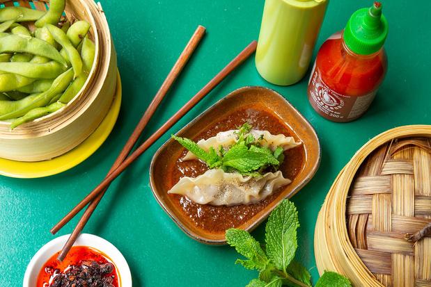 Bij Steamy Windows in Gent staan heerlijke dumplings op het menu