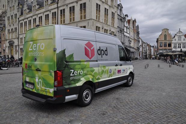 Pakjesbedrijf DPD zet in op de levering van voeding