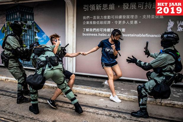 Protesten in Hongkong: 'Politiegeweld deed de zaak escaleren'