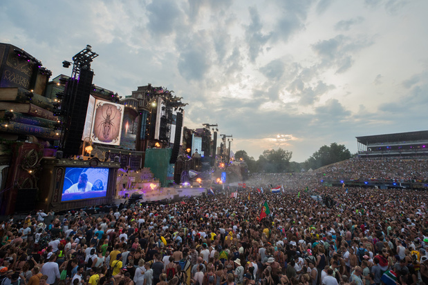 Dan toch geen virtueel Tomorrowland in Tour & Taxis