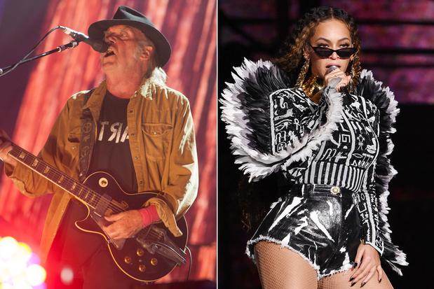 'Ik kan niet kiezen tussen Neil Young en Beyoncé'