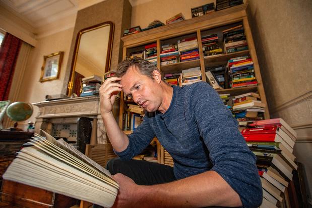 Creatief in quarantaine met Arnout Hauben: 'Mijn boekhandelaar is als mijn thuisdokter'