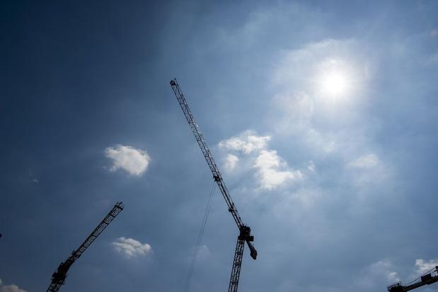 'Helft minder verkoop van nieuwbouwwoningen'