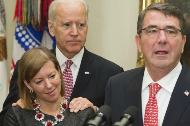 Jonge politica beschuldigt Joe Biden van misplaatste kus