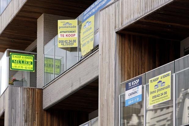 Prijs appartementen gaat stevig vooruit