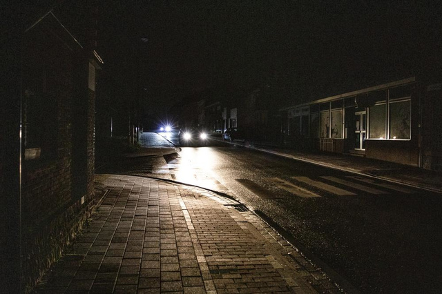 Storing aan Anzegemse straatverlichting