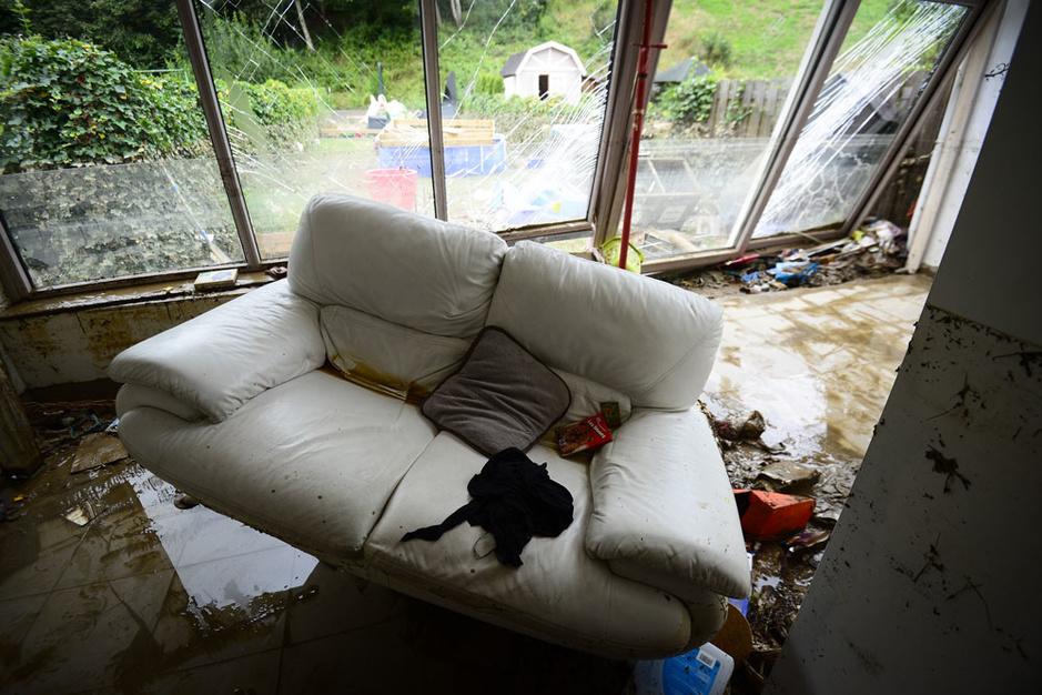 Wat met waterschade aan een huurwoning?