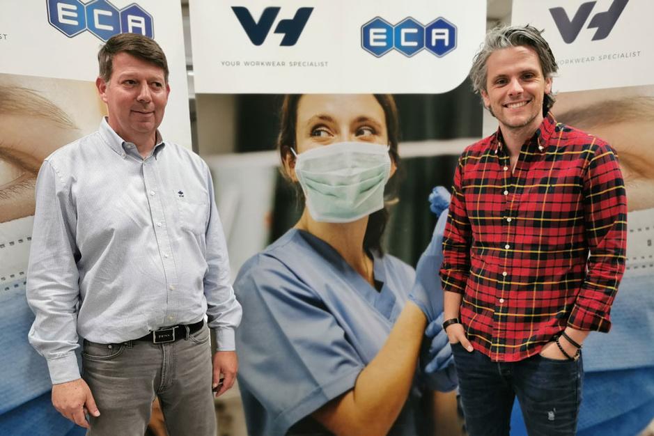 ECA en Van Heurck starten productie chirurgische mondmaskers op