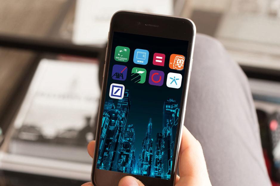 Apps van Belfius en KBC zijn wereldtop
