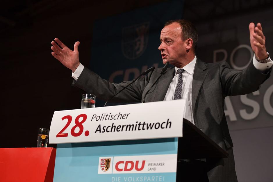 De 'anti-Merkel' Friedrich Merz ligt op kop als kandidaat-bondskanselier