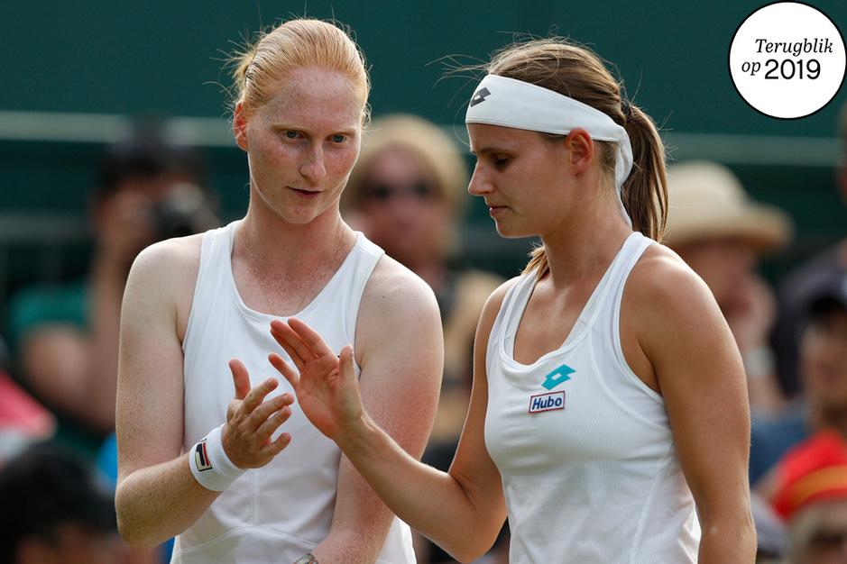 Ooggetuige blikt terug op 2019: eerste lesbische koppel op Wimbledon