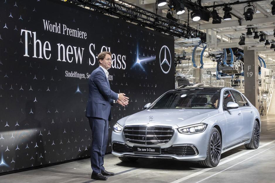Nieuwe luxewagen Mercedes S moet Daimler weer glans geven