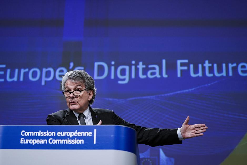 De EU zet digitale bakens uit