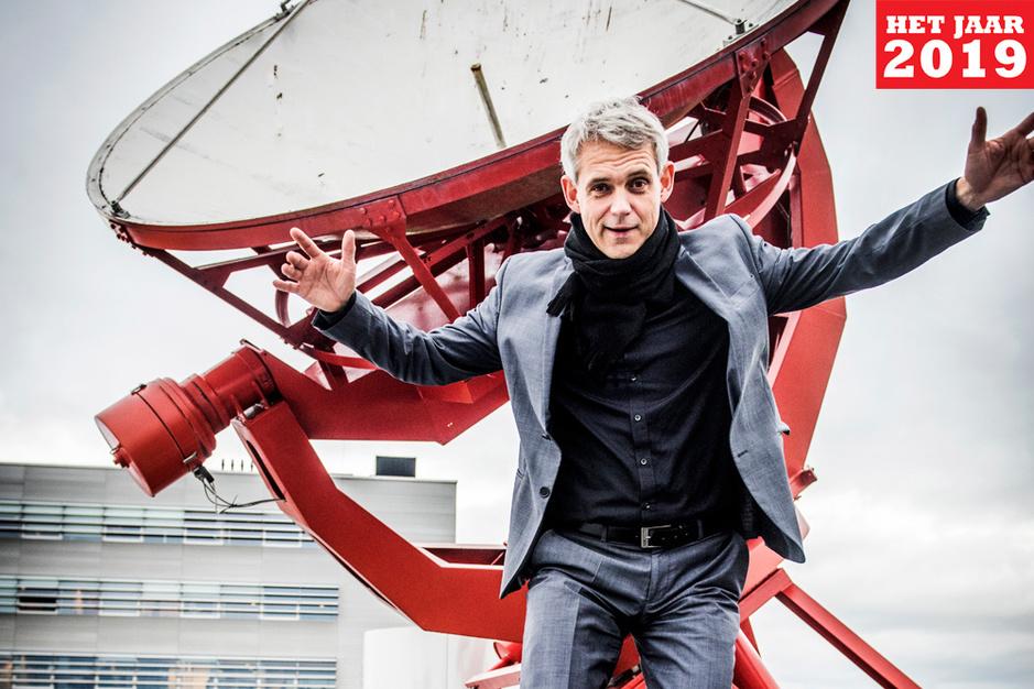 Sterrenkundige Heino Falcke: 'Kijk ik naar de ruimte, dan kijk ik naar God'