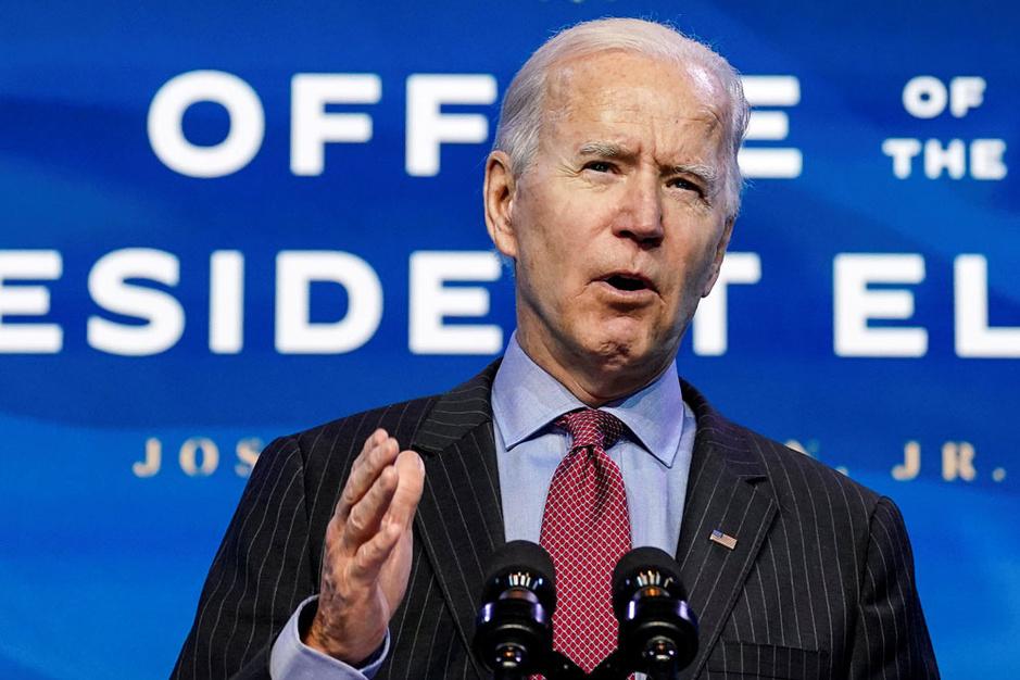 Hoe president Biden de coronacrisis wil kapot spenderen (video)