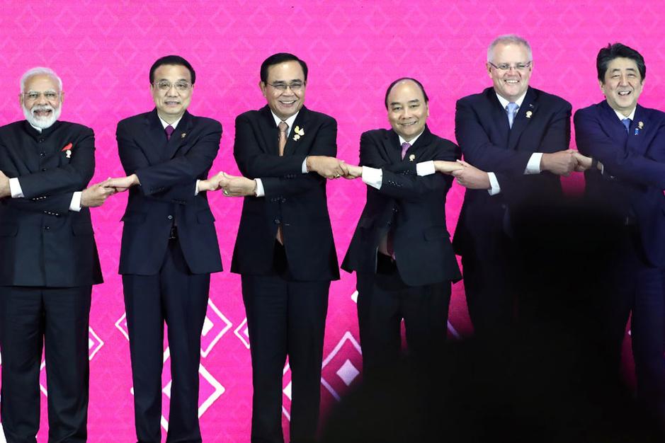 Nieuw Aziatisch handelsakkoord moet de opmars van China inkapselen (video)